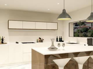 Projeto de Design de Interiores Habitação Unifamiliar Cozinhas modernas por 88 Design & Paisagismo Moderno