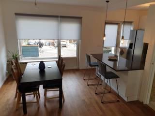 Remodelação de Cozinha e Sala - Habitação Unifamiliar - Holanda Salas de jantar minimalistas por 88 Design & Paisagismo Minimalista