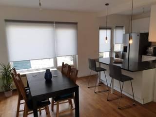 Remodelação de Cozinha e Sala - Habitação Unifamiliar - Holanda por 88 Design & Paisagismo Minimalista