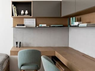 Study And Desktop Table by obrawal interior and architecture