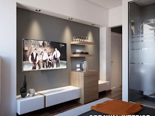 TV Unite by obrawal interior and architecture
