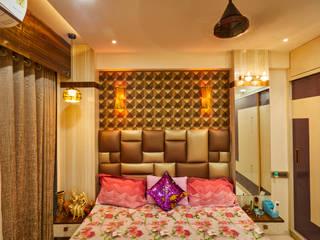 2BHK Interior Design, Navi Mumbai by Hollahomes.com Classic