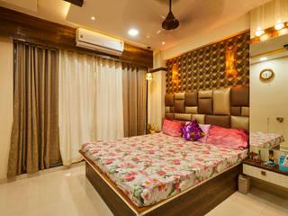 2BHK Interior Design, Navi Mumbai by Hollahomes.com Modern