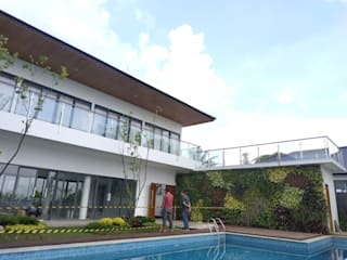 Rumah Pasir Impun Kolam Renang Tropis Oleh Havia Architecture Studio Tropis