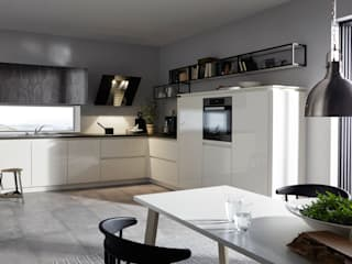 Spitzhüttl Home Company Built-in kitchens White