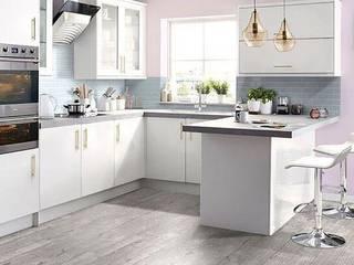 Modern kitchen by ConstruccionesyDecoracionesVJK Modern