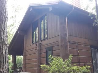 Остекление деревянного дома, проект R47-DT от InFacade
