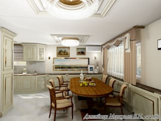 Кухня гостиная от Меркулов Владимир Николаевич Классический