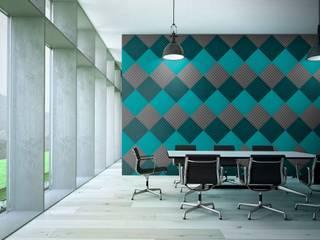 Muratto UNDERTONE Acoustic Panel – Organic Blocks por Boleado gestão de produto Muratto Moderno