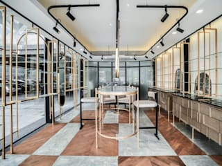 Hypestudio Eclectic style walls & floors Wood Amber/Gold