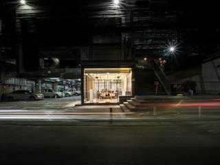 Hypestudio Industrial style walls & floors Metal Black