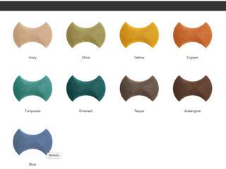 Muratto SENSES Design Block – Organic Blocks por Boleado gestão de produto Muratto Moderno