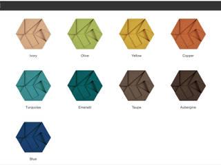 Muratto HEXAGON Design Block – Organic Blocks por Boleado gestão de produto Muratto Moderno