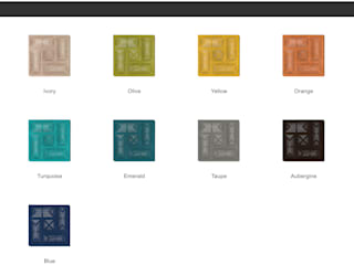 Muratto BUZZER Acoustic Panel – Organic Blocks por Boleado gestão de produto Muratto Moderno