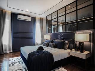 Hypestudio Small bedroom Wood Blue