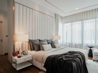 Hypestudio Small bedroom Wood White