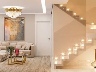 Camila Pimenta | Arquitetura + Interiores Escaleras Mármol Beige