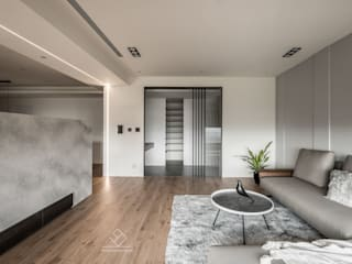 Casas de estilo moderno de 極簡室內設計 Simple Design Studio Moderno