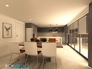 B Architectural Interiors Classic style dining room by Archvisuals Design + Contracts Classic