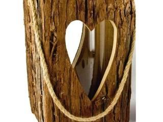 Latern aus Holz mit Herz - groß von Allgaier-Allerlei Rustikal
