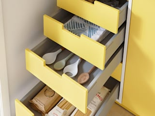 Spitzhüttl Home Company KitchenCabinets & shelves Yellow