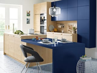Spitzhüttl Home Company Built-in kitchens Blue