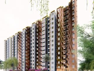 BDA (Bangalore Development Authority) by Vasantha Architects and Interior Designers (VAID) Country