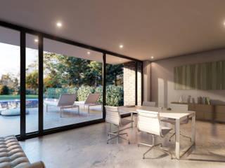 Einfamilienhaus AD14 Moderne Wohnzimmer von Hellmers P2 | Architektur & Projekte Modern