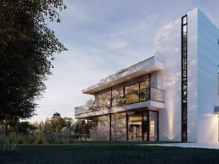 Einfamilienhaus AD14 von Hellmers P2 | Architektur & Projekte Modern