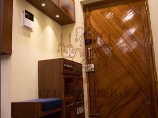 Home Interior Design in – Bangalore – Ashish Modern living room by Cee Bee Design Studio Modern