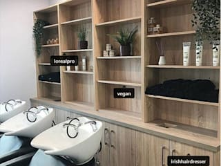 Carbon Hair Salon od Joanna Prendergast Design