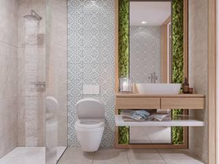 Moradia V2 Alpha Details Casas de banho modernas