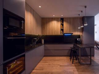Cuisine moderne par Zikzak architects Moderne