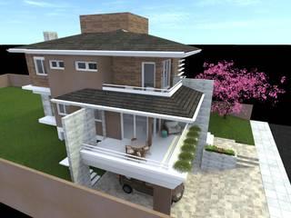Residência São João Casas modernas por MEI Arquitetura e Interiores Moderno