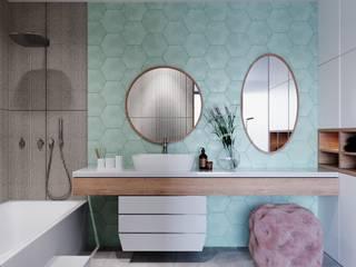 Modern bathroom by Alpha Details Modern