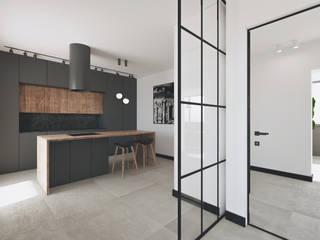 CASA PE Luigi Smecca Architetto Cucina in stile industriale