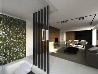 CASA RM Luigi Smecca Architetto Ingresso, Corridoio & Scale in stile moderno