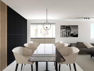 CASA RM Luigi Smecca Architetto Sala da pranzo moderna