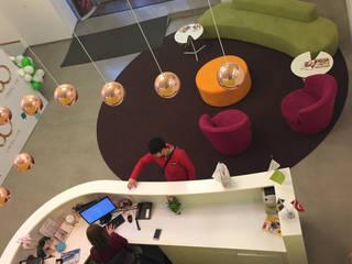 oriflame türkiye ofisi püren yurtsever mimarlık dekorasyon inşaat ticaret ltd şti Ofis Alanları