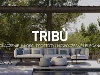 TRIBU od SPENSEN HOME COLLECTION Minimalistyczny
