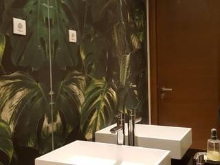REMODELAÇÃO DE WC-CASCAIS por CRISTINA AFONSO, Design de Interiores, uNIP. Lda Moderno