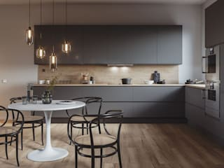 Premium Modular Kitchen by Home2Decor - Bhopal Eclectic