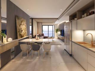 Mountain Views Mediterranean style kitchen by Home2Decor - Bhopal Mediterranean