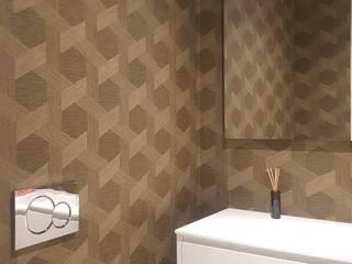 PROJECTO DE SALA por CRISTINA AFONSO, Design de Interiores, uNIP. Lda Moderno