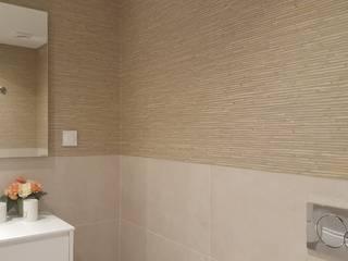 PROJECTO DE SALA:  tropical por CRISTINA AFONSO, Design de Interiores, uNIP. Lda,Tropical