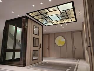 Plafond ON/ME light Couloir, entrée, escaliers minimalistes par ON-ME Minimaliste