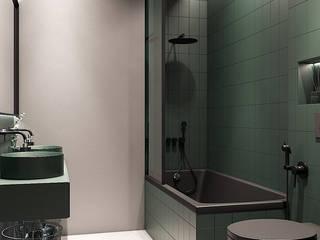 Salle de bain moderne par Zikzak architects Moderne