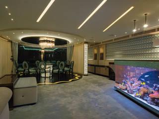 Acquario Bar di MELIK LUXURY Aquarium Eclettico