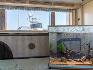 Acquario su Yacht di MELIK LUXURY Aquarium Eclettico