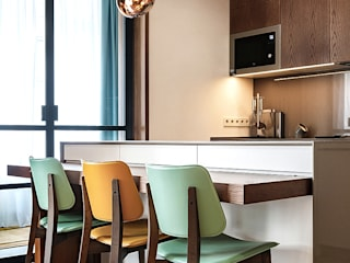Zikzak Ruang Makan Modern